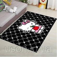 Коврик прямоугольный в детскую комнату Homytex 140*190 Hello Kitty