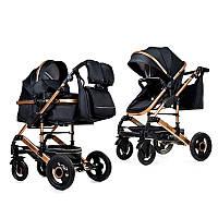 Дитяча коляска-трансформер 2 в 1 nino's Freelander