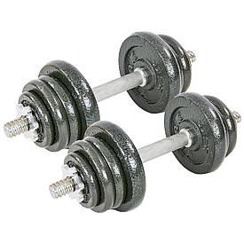 Гантели разборные (2шт по 12,5 кг) стальные 25кг TA-8213-25