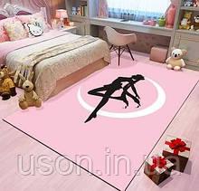 Коврик прямоугольный в детскую комнату Homytex 140*190 Ballerina