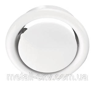 Анемостат металлический вытяжной 125мм