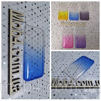 Чехол прозрачный Градиент для Samsung Galaxy (Самсунг) J7