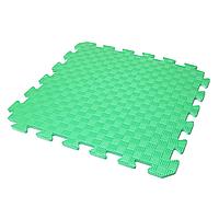Детский коврик-пазл (мягкий пол татами ласточкин хвост) IZOLON EVA KIDS 50х50х1 см зеленый