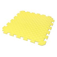 Детский коврик-пазл (мягкий пол татами ласточкин хвост) IZOLON EVA KIDS 50х50х1 см жёлтый