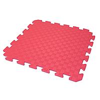 Детский коврик-пазл (мягкий пол татами ласточкин хвост) IZOLON EVA KIDS 50х50х1 см красный