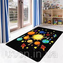 Коврик прямоугольный в детскую комнату Homytex 140*190 Galaxy