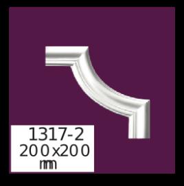 Угол  Home Décor 1317-2 кутовий  , лепной декор из полиуретана
