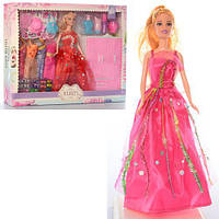 Кукла с набором платьев YX1013