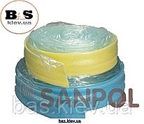 Демпферная лента SANPOL ширина 15см , толщина 8мм, рулон  50м/п