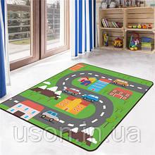 Коврик прямоугольный в детскую комнату Homytex 140*190  Cars