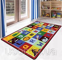 Коврик прямоугольный в детскую комнату Homytex 140*190  ABC