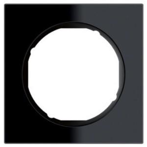 Рамка 1-ная стекло /чёрный Berker R.3