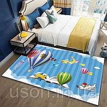 Коврик прямоугольный в детскую комнату Homytex 140*190  Balloon