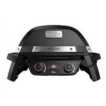 Гриль електричний портативний Weber PULSE 2000 (390х710х600мм), чорний