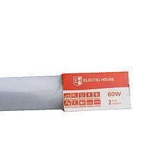 ElectroHouse Светильник ПВЗ Slim 60W 1514мм 6500K 4800Lm IP66
