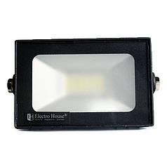ElectroHouse LED прожектор  20 Вт 6000 К 1800 Лм IP65