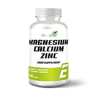 Минералы - EnergiVit Calcium Zinc Magnesium / 130 tablets