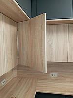 Встроенная двухуровневая угловая кухня лоджия 2,58*1,0*1,3 м 11