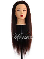 Учебная голова манекен для причесок с волосами 30% натуральных / кукла для парикмахера