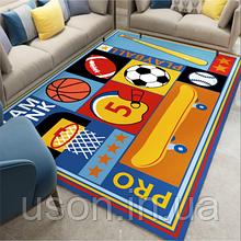 Коврик прямоугольный в детскую комнату Homytex 140*190 Basketbool