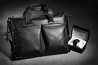 Мужская сумка-портфель Polo под формат А4   КС10