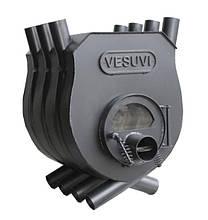 """Печь калориферная булерьян """"VESUVI"""" тип 00 c варочной поверхностью со стеклом"""