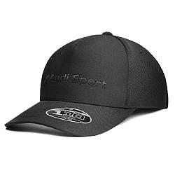 Бейсболка Audi Sport Flexfit Cap, black, артикул 3132002100