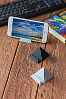 Универсальная подставка для телефона держатель смартфона в форме Пирамиды черная