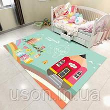 Коврик прямоугольный в детскую комнату Homytex 140*190  Beautiful word