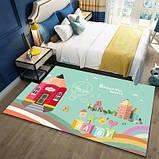 Коврик прямоугольный в детскую комнату Homytex 140*190  Beautiful word, фото 2