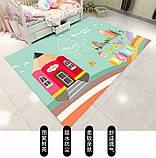Коврик прямоугольный в детскую комнату Homytex 140*190  Beautiful word, фото 3