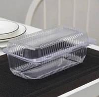 Контейнер (Коррекс) пищевой контейнер одноразовый прозрачный пластиковый 50шт / уп