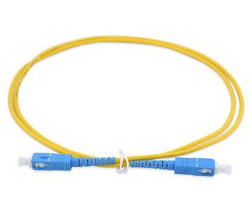 Шнур оптический (патч-корд) SC/UPC-SC/UPC SM 1м Simplex
