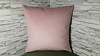 Подушка декоративная 40х40 розовая