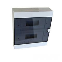 ElectroHouse Бокс пластиковый модульный для наружной установки на 24 модулей IP20