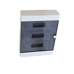 ElectroHouse Бокс пластиковый модульный для наружной установки на 36 модулей IP20