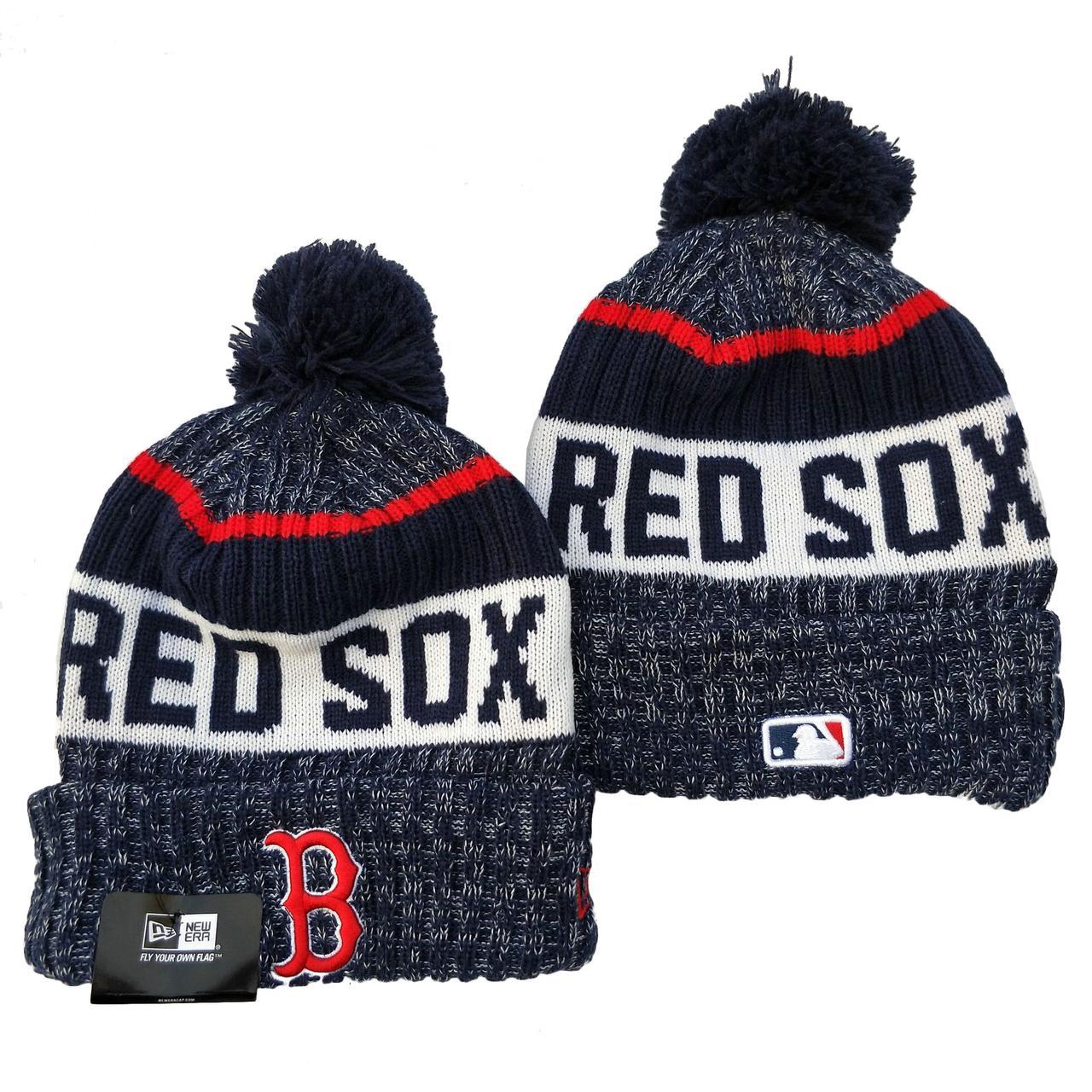 Шапка зимняя Boston Red Sox /  SPK-215 (Реплика)