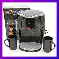 Капельная кофеварка Livstar LSU-1190 black на 2 чашки 650 Вт Маленькая кофемашина для дома с двумя чашками