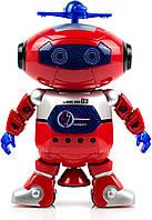 Интерактивная игрушка робот DANCE 99444, Танцующий светящийся робот Dancing Robot