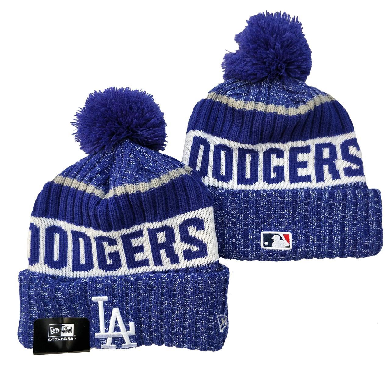 Шапка зимняя Los Angeles Dodgers /  SPK-221 (Реплика)