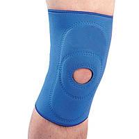 Бандаж неопреновий на колінний суглоб з пателлярним кільцем NS-703 Ortop