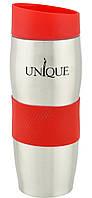 Термокружка UNIQUE UN-1072 380 мл Red (10079)