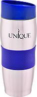 Термокружка UNIQUE UN-1072 380 мл Blue (10079)