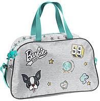 Спортивная детская сумка 13L Paso Barbie серая