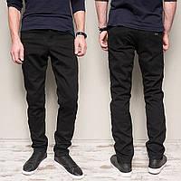 Чорні чоловічі джинси на тонкому флісі Dsouaviet 734. Розмір 30