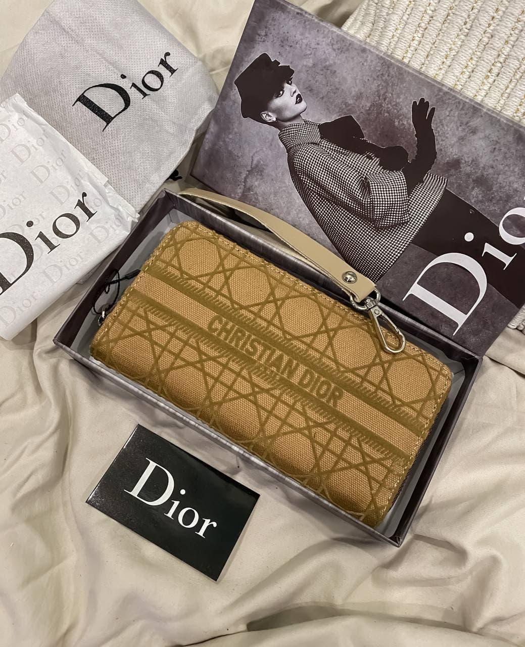 """Клатч женский Dior """"Бежевый"""""""