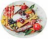 Блюдо обертове для закусок 32 см