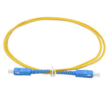 Шнур оптический (патч-корд) SC/UPC-SC/UPC SM 3м Simplex