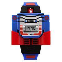 Skmei 1095 сині дитячі годинники, фото 1