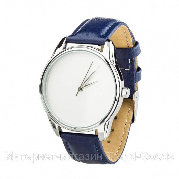 Часы Ziz Минимализм, ремешок ночная синь, серебро и дополнительный ремешок SKL22-142864